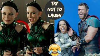 Video Thor: Ragnarok Hilarious Bloopers and Gag Reel - Full Outtakes 2018 MP3, 3GP, MP4, WEBM, AVI, FLV September 2018