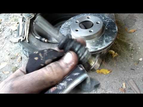 Тормозные диски газель замена своими руками видео