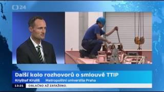 Další kolo jednání o dohodě TTIP