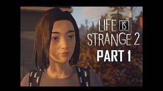 LIFE IS STRANGE 2 Walkthrough Part 1 - Intro Episode 1 Roads (Let's Play Season 2)