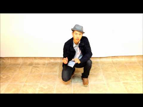 How To Club Dance For Men | Basic Footwork (beginner)