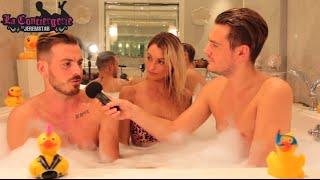 Video Aurélie et Julien (Les Vacances des Anges) dans le bain de Jeremstar - INTERVIEW MP3, 3GP, MP4, WEBM, AVI, FLV Agustus 2017