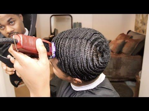 360 WAVES BIG CHOP | SELF HAIRCUT
