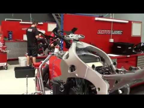 Motorcycle Honda Racing Australia Factory 1