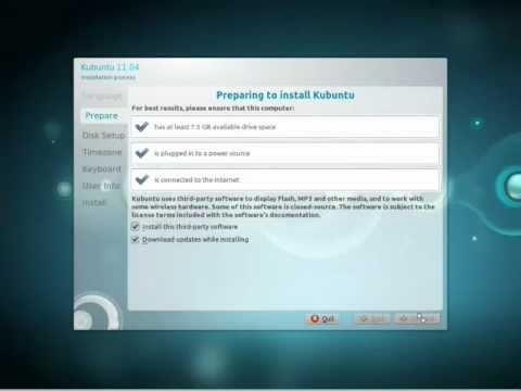 comment installer kubuntu