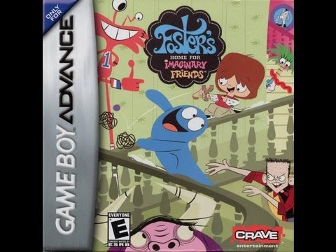 foster's home for imaginary friends gba rom paradise