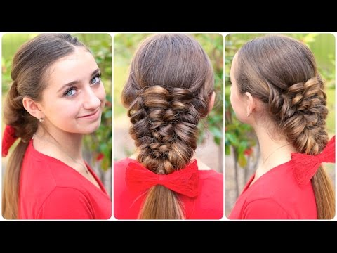 How to Create a Banded Puff Braid | Cute Hairstyles