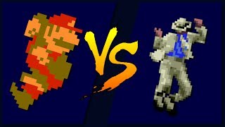 Mario VS Michael Jackson