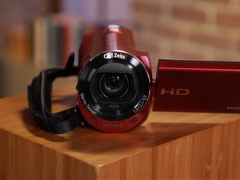 The Sony Handycam HDR-CX220 is cheap, small, and lightweight