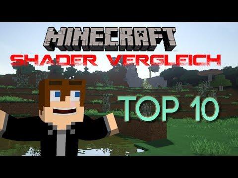 Minecraft SHADER 1.7.2/1.7.5 VERGLEICH (TOP 10) [German/Deutsch] [HD] (видео)