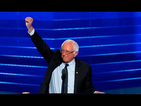 Bernie Sanders' full speech at the 2016 Democratic National Convention