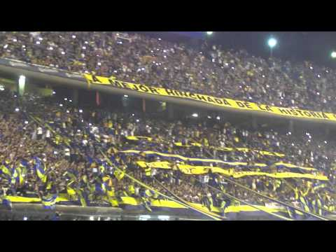 Video - recibimiento a boca vs river semi final sudamericana 2014 - La 12 - Boca Juniors - Argentina