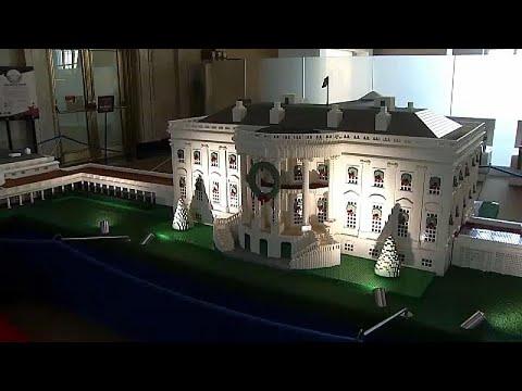 Χριστούγεννα στον Λευκό Οίκο από lego
