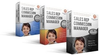 Magento Sales Rep Commission Manager - Basic Edition video