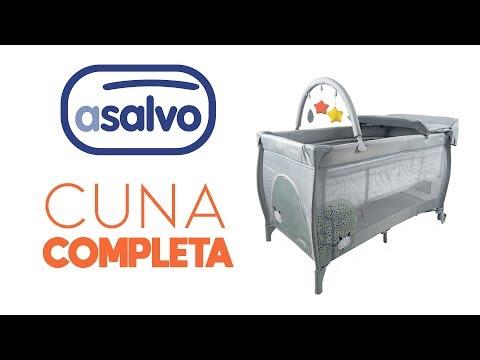 Montage lit bébé pliant Licorne avec rehausseur, table à langer et arche 60x120
