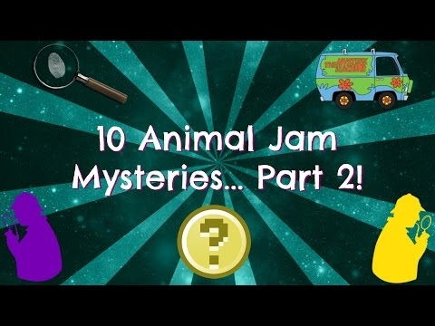 Top 10 Animal Jam Mysteries! (Part 2)