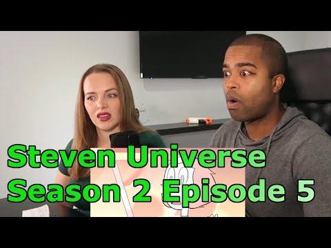 """Steven Universe Season 2 Episode 5 """"Sworn to the Sword"""" (REACTION 🔥)"""