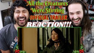 ALL THE CREATURES WERE STIRRING (Holiday Horror Anthology) - Official TRAILER REACTION!!! by The Reel Rejects
