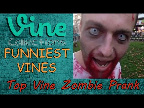 Top Zombie Prank || Best Funniest Vines || Top Funny Vine Compilation 2015