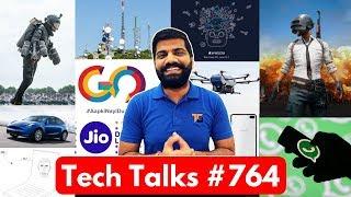Tech Talks #764 - Poco F1 Lite, IronMan Suit, PUBG Ban, Redmi Go, Tesla Model Y, Pixel 4, Whatsapp