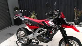 8. Aprilia SXV 550 Super Moto
