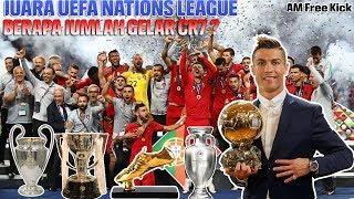 JUARA UEFA NATION LEAGUE, CRISTIANO RONALDO Jadi ORANG yang BERGELIMANG TROPHY.!!