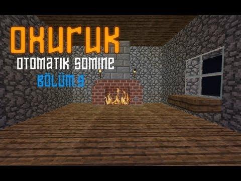 Minecraft Otomatik Şömine Sistemi Yapımı