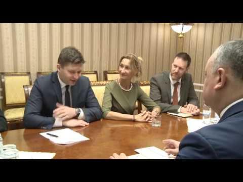 Președintele Igor Dodon a avut o întrevedere cu Directorul Regional Adjunct PNUD pentru Europa şi CSI, Radislav Vrbesky