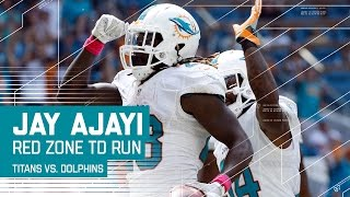 Damien Williams' 58-Yard Screen Play Leads to Jay Ajayi's TD Run | Dolphins vs. Titans | NFL by NFL