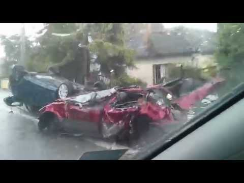 Obrenovac - 20.05.2014. - automobili posle poplave