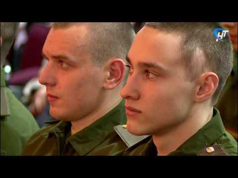 Состоялась торжественная церемония проводов призывников в армию