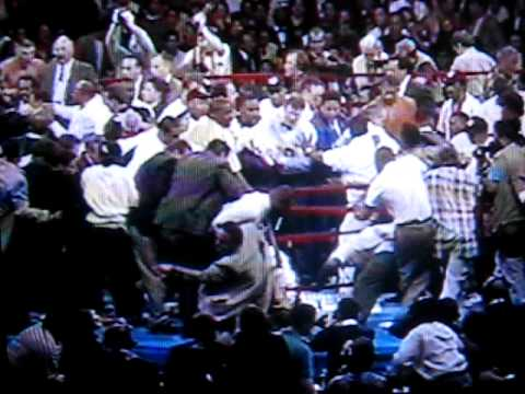 Crazy Amazing RIOT at Boxing Fight Like Street Brawl Punch Kick Knockout