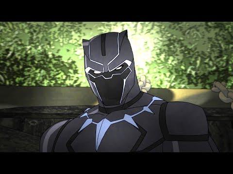 Marvel's Avengers Assemble Season 4 (Character Promo 'Black Panther')
