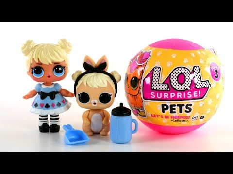 See all of the LOL Surprise Pets and matching LOL Surprise Big & Lil' Sis   LOL Surprise uncovered!