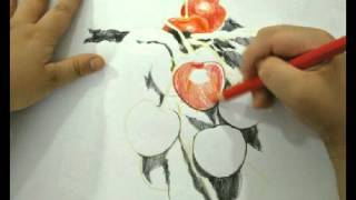 Cherries - Stop motion drawing by Ben #picpac #stopmotion
