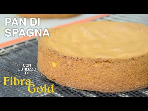 Pan di spagna, ricetta leggera con l'utilizzo di Fibra Gold