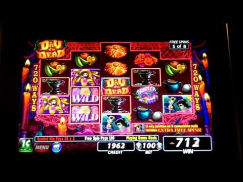 IGT - Day of the Dead Slot Bonus