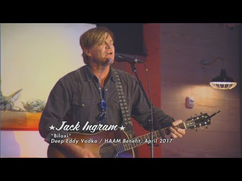 DEEP EDDY VODKA / HAAM Acoustic Benefit with JACK INGRAM on The Texas Music Scene