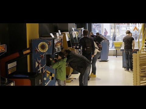Какой напиток из автомата можно купить в музее игровых автоматов