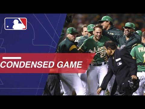 Condensed Game: HOU@OAK - 8/17/18 (видео)