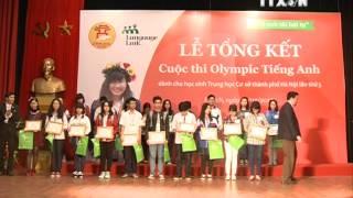 Tổng kết cuộc thi Olympic Tiếng Anh Tiểu học 2014