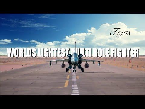 LCA Tejas World's lightest Multi Role Fighter
