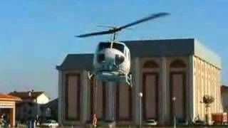Berrioplano Spain  city images : Helicopter loading its belly tanks