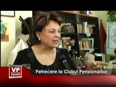 Petrecere la Clubul Pensionarilor