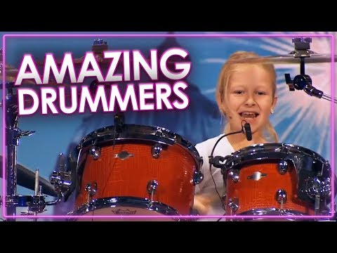 BEST DRUMMER'S IN THE WORLD! Auditions On Got Talent | Top Talent