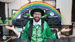 Luck of The Irish +$2,600! | Ross' Trade Recap