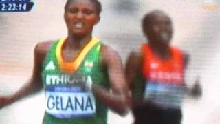 London Olympic: Ethiopia's Gelana Wins Women's Marathon