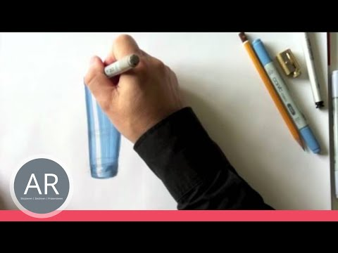 Zeichnen lernen –  runde Formen / Skizze – Akadmie Ruhr Tutorial
