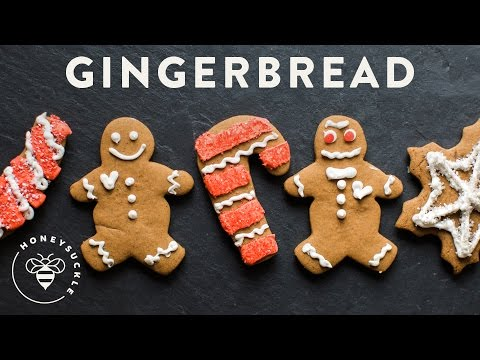 Homemade Gingerbread Cookies Recipe - HoneysuckleCatering