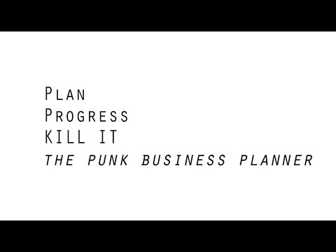 The punk  guide to business planning – Part One – Introduction